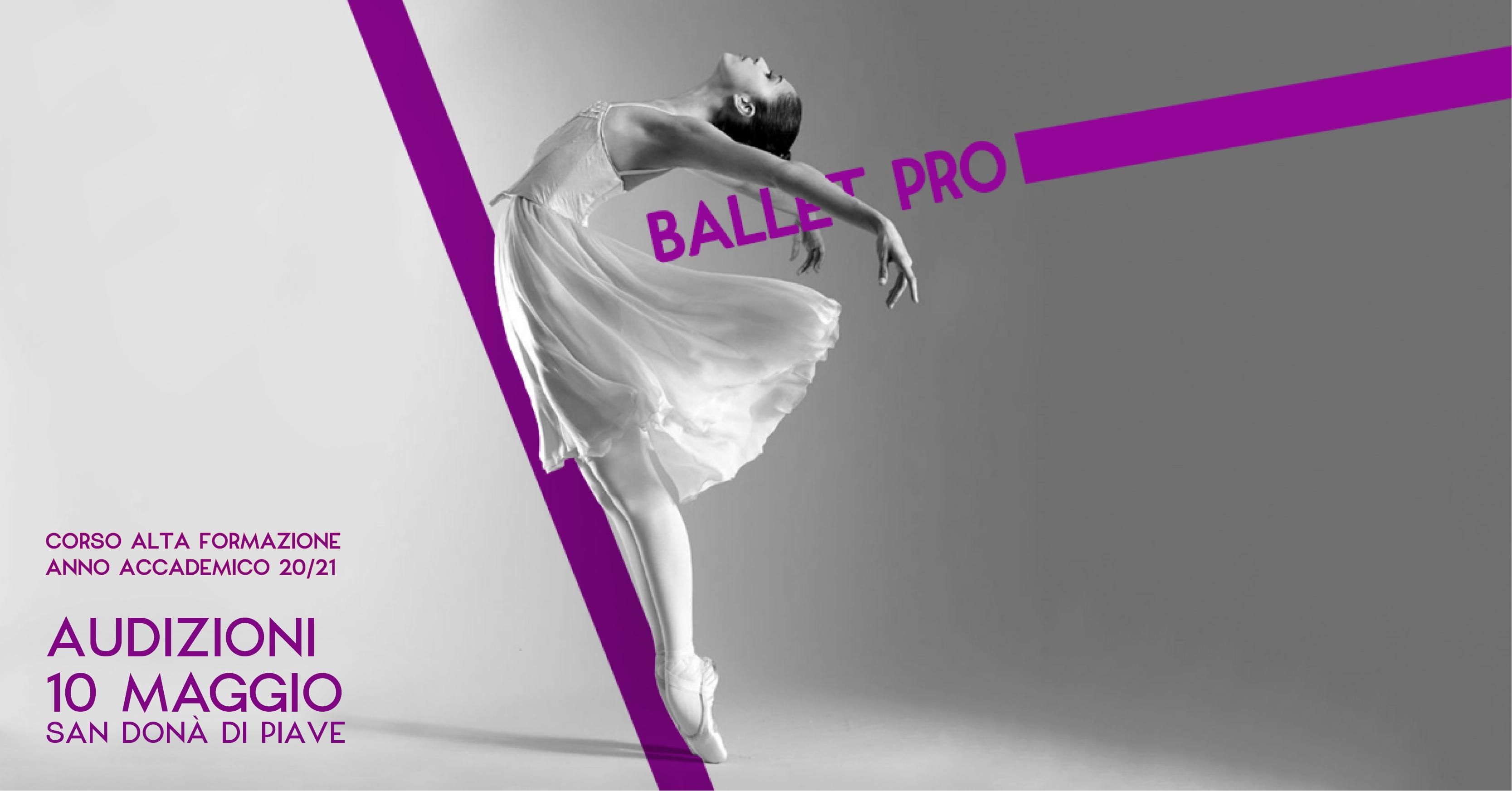 Ballet Pro - Corso Alta Formazione