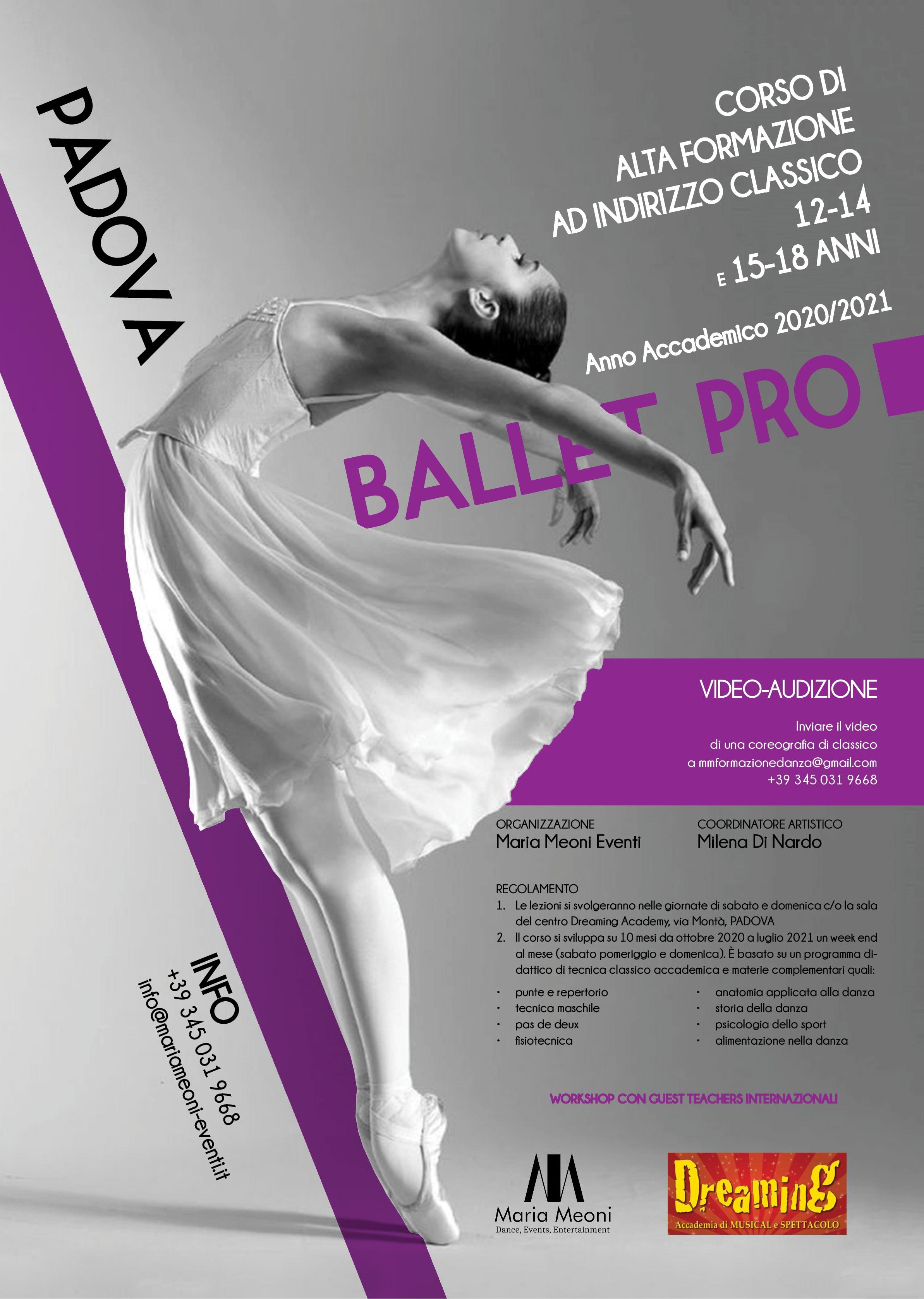 Ballet Pro - Corso Alta Formazione ok